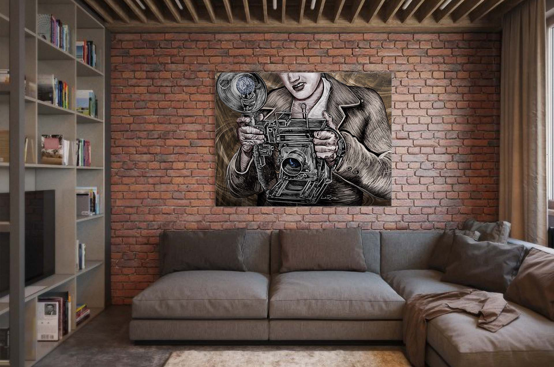 Gallery wall art by Doug LaRue